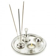 Cadou Chinelli Silver Table Decorations - Made in Italy