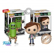 Set 2 Piezas Funko Pop Pickle Rick Y Lawyer Morty Caricatura Rick & Morty 2018