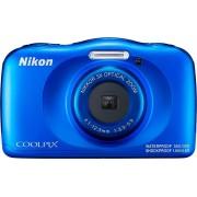 Nikon »Coolpix W150« Outdoor-Kamera (13,2 MP, 3x opt. Zoom, Bluetooth), blau