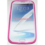 Силиконов гръб ТПУ за Samsung N7100 Galaxy Note II Розов