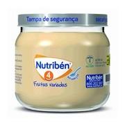 Boião frutas variadas 130g - Nutriben