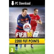 FIFA 16 - 2200 FUT POINTS - ORIGIN - PC - WORLDWIDE