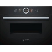 Bosch Serie 8 CMG656BB6B Built In Combination Microwave - Black