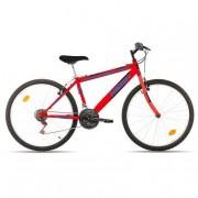M.C. Avigo - Bicicleta Neón 26 Pulgadas Roja
