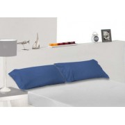 Tencel Kussensloop Indigo Blauw, 90 cm