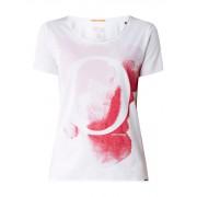 HUGO BOSS T-shirt van katoen met frontprint