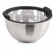 Cook's Essentials Ciotola in acciaio Inox con finitura in silicone e coperchio
