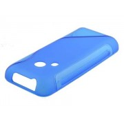 Wave Case for Nokia 220 - Nokia Soft Cover (Frosted Blue/Blue)