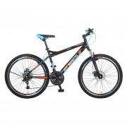 Bicicleta Benotto Ignition FS MTB Acero R26 21V Hombre Fnos DD Negro UN