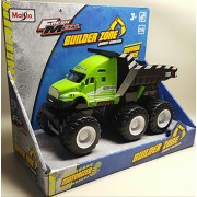 Fresh Metal Builder Zone Quarry Monsters Dump Truck