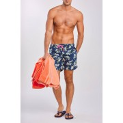 Gant Plavky Gant Lemon Flowers Swim Shorts Cf modrá XL