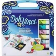 Set Hasbro Play Doh Dohvinci Neon Pop Decals Refill Kit