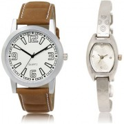 The Shopoholic White Silver Combo New Stylist Latest White And Silver Dial Analog Watch For Boys And Girls Mens Belts Watches