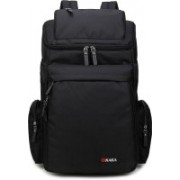 Kaka High Quality Collage School Travel Casual Luggage Large Capacity Bag for 15 Laptop Backpack(Black)