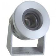 KlemKo Luxi LED opbouwarmatuur aluminium rond 700mA warmwit 876682