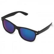 Solglasögon James Svart Blå lins