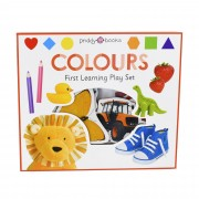 Priddy Books Colours First Learning Play Set - Ages 0-5 - Board Book - Priddy Books