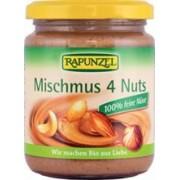 Pasta Bio din 4 Feluri Nuca Vegan Rapunzel 250gr