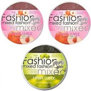 mix box apple-2 and green-1 combo pack of 3 infinity hair wax for men