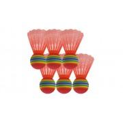 Betzold-Sport Satz mit 6 Riesen-Badmintonbällen