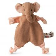 WWF Doudou Plat Eléphant Rose