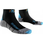 X-Socks Run Discovery Hardloopsokken Dames grijs/zwart 39/40 2018 Hardloopsokken