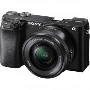 Sony Alpha A6100 Aparat Foto Mirrorless 24.2 MP Kit cu Obiectiv 16-50mm 4K Negru