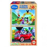 Educa Disney Mickey egér fa puzzle, 2x25 darabos