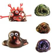 DIY Slime Polymer Colorful Bounce Mud Visual Chameleon Non-Magnetic Rubber Mud Toy