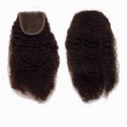 Rapunzel® Extensions Naturali Lace Closure Coily Curl 2.3 Chocolate Brown 25 cm