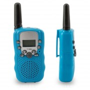 Mini walkie-talkies T388 1w 22ch pantalla LCD para niños Kid Radios bidireccionales