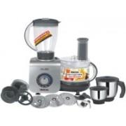 Inalsa Maxie Premia 800 W Food Processor(Grey PU Spray Painted)