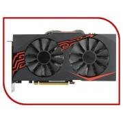 Видеокарта ASUS Radeon RX 570 1256Mhz PCI-E 3.0 4096Mb 7000Mhz 256 bit DVI HDMI HDCP EX-RX570-O4G