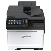 Lexmark CX625ade Laser Multifunction Printer - Color - Copier/Fax/Printer/Scanner - 40 ppm Mono/40 ppm Color Print - 2400 x 600 dpi Print - Automatic Duplex Print - 1200 dpi Optical Scan (Renewed)