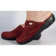 Papuci de casa visinii din plus dama/dame/femei (cod Gloria)