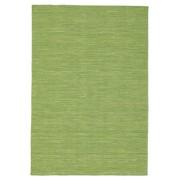 RugVista Tappeto Kilim loom - Verde 140x200 Tappeto Moderno