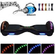 Electric Smart Self Balancing Scooter Hover Board Balance 2 Wheel led lights bluetooth