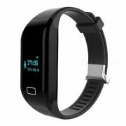 Monitor de ritmo cardiaco H3 impermeable 3ATM Bluetooth Smart Watch - Negro