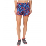 Nike Dry Tempo Print 2 Running Short Light CrimsonReflective Silver