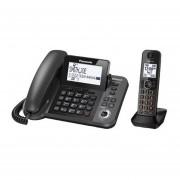 Teléfono Alámbrico Panasonic KX-TGF380-Negro