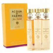Iris Nobile Leather Purse Spray Refills Eau De Parfum 3x20ml/0.7oz Iris Nobile Кожен Парфțм Спрей за Дамска Чанта Пълнители