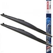 Bosch 703 S Twinspoiler ablaktörlő lapát szett, 3397118205, Hossz 700 / 650 mm