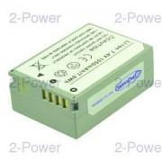 2-Power Digitalkamera Batteri Canon 7.4v 1050mAh (NB-7L)