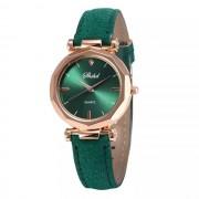 Ceas femei classic luxury casual verde