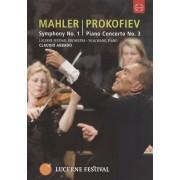 Claudio Abbado: Mahler - Symphony No. 1/Prokofiev - Piano Concerto No. 3 [DVD] [2009]