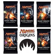 6 (Six) Packs of Magic: the Gathering - MTG: Magic Origins Booster Pack Lot (6 Packs)