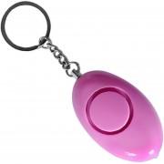EW Forma de Huevo Mujer Llavero Alarma de seguridad personal escolar los niños alerta de emergencia