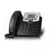 VoIP Телефон, Akuvox SP-R53P, 132*64-pixel екран, PoE, 3 линии