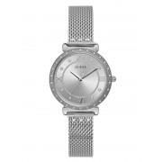 Guess Analoog Horloge Met Strass - Zilver - Size: T/U