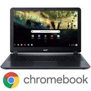 """Acer Chromebook 15 CB3-532-C8DF, Intel Celeron N3060, visualización HD de 15,6"""", 4 GB LPDDR3, 16 GB eMMC, 802.11ac WiFi 5, Google Chapado en Cromo"""